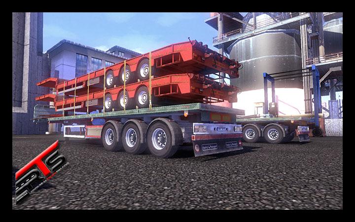 Image Principale Euro Truck Simulator 2 - MODS : Roues pour remorques by Bora