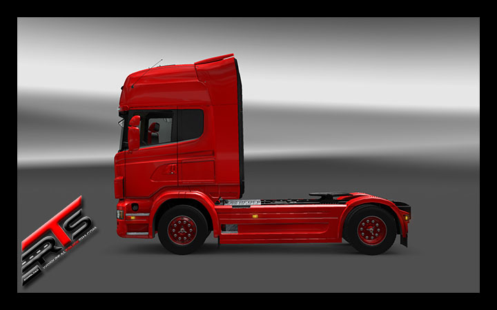 Image Principale Euro Truck Simulator 2 - MODS : Scania - Roues customisées by Kamaz