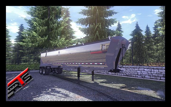Image Principale Euro Truck Simulator 2 - MODS : Benne américaine by RBR-DUK