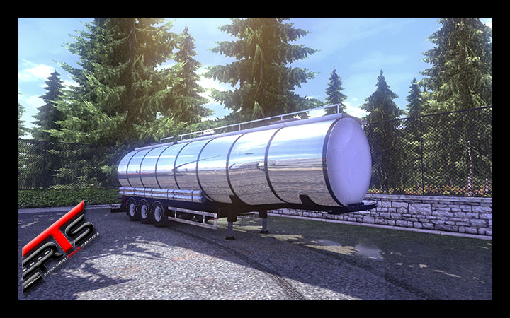 Image Principale Euro Truck Simulator 2 - MODS : Citerne Vanhool by Rommi TZ