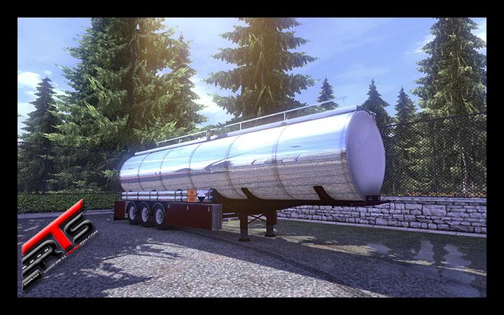 Image Principale Euro Truck Simulator 2 - MODS : Citerne chimique Wielton by Rommi TZ