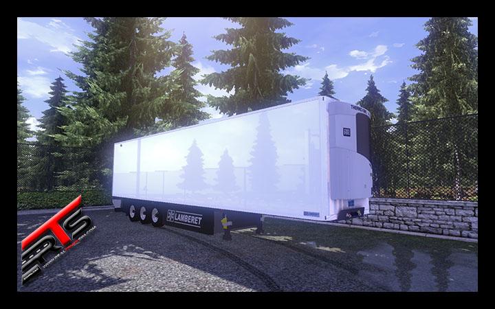 Image Principale Euro Truck Simulator 2 - MODS : Lamberet SR2 Futura conversion by Sorin