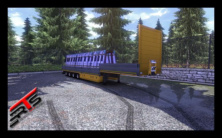Image Principale Euro Truck Simulator 2 - MODS : Panel Transporter by Rommi TZ