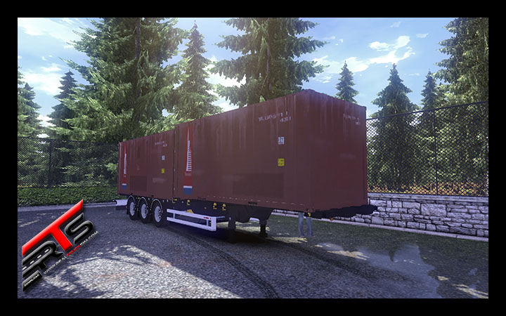 Image Principale Euro Truck Simulator 2 - MODS : Remorque container Sommer conversion by Roadhunter