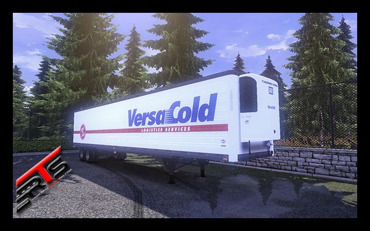 Image Principale Euro Truck Simulator 2 - MODS : Remorque frigorifique américaine by RBR-DUK