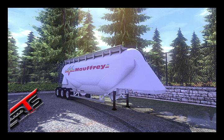 Image Principale Euro Truck Simulator 2 - MODS : SCS Cement Trailer reworked by Bora