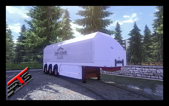 Image Principale Euro Truck Simulator 2 - MODS : SCS Glass Trailer reworked by Bora