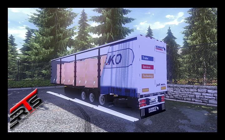 Image Principale Euro Truck Simulator 2 - MODS : Schmitz S.KO by Roadhunter