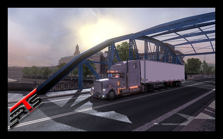 Image Principale Euro Truck Simulator 2 - MODS : Freightliner Classic 120 by Oleg_Conte
