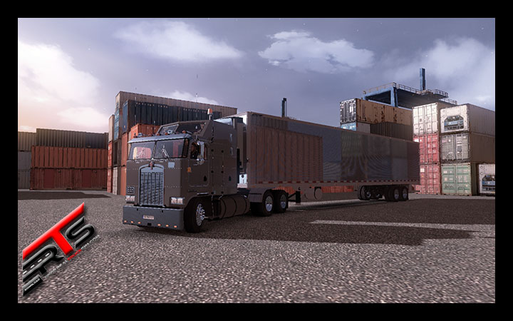 Image Principale Euro Truck Simulator 2 - MODS : Kenworth K100 VIP 6x4 + 4x2 V2.0 by Dmitry68 and Stas556