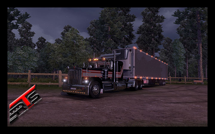 Image Principale Euro Truck Simulator 2 - MODS : Kenworth W900aRC by Dmitry68 and Stas556