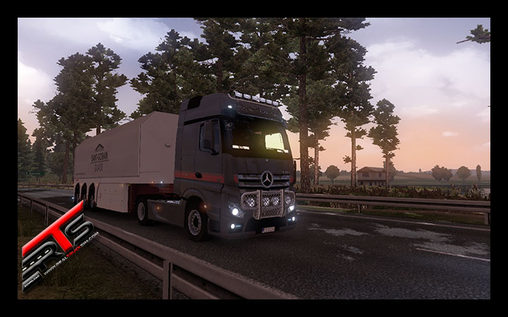 Image Principale Euro Truck Simulator 2 - MODS : Mercedes Benz Actros MPIV V2.2 by DanZ