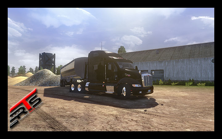 Image Principale Euro Truck Simulator 2 - MODS : Peterbilt 387 version finale by Rus47tam and AU44