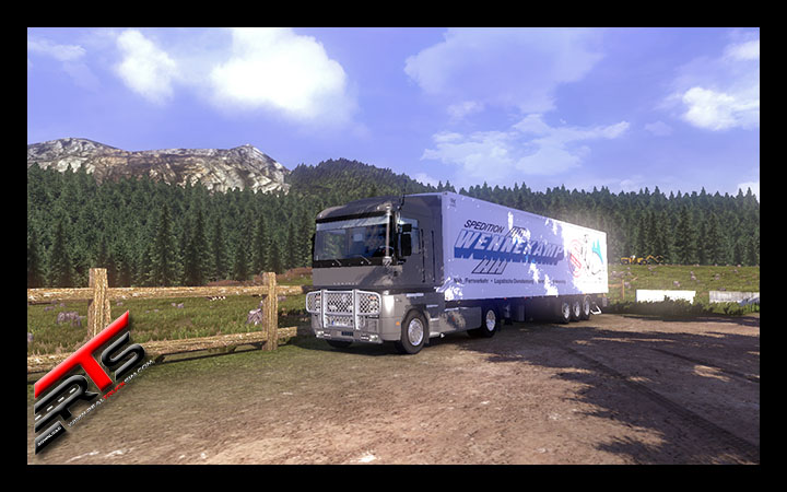 Image Principale Euro Truck Simulator 2 - MODS : Renault Magnum Integral V2.0 by Haxwell
