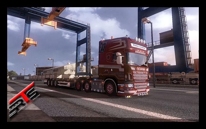 Image Principale Euro Truck Simulator 2 - MODS : Scania Ronny Ceusters by Emanuel Sirbu