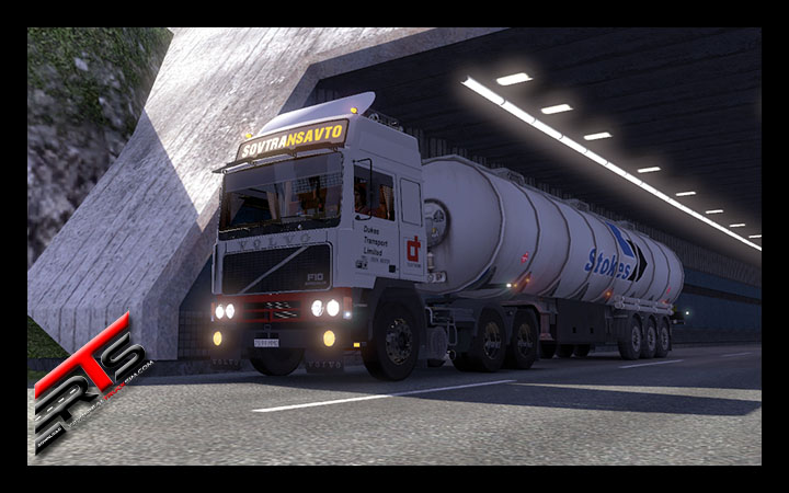 Image Principale Euro Truck Simulator 2 - MODS : Volvo F10 V2 by Dmitry68 and Stas556