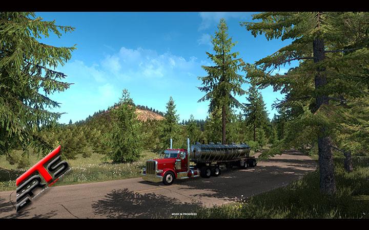Image Principale American Truck Simulator - WIP : Beauté naturelle de l'Oregon