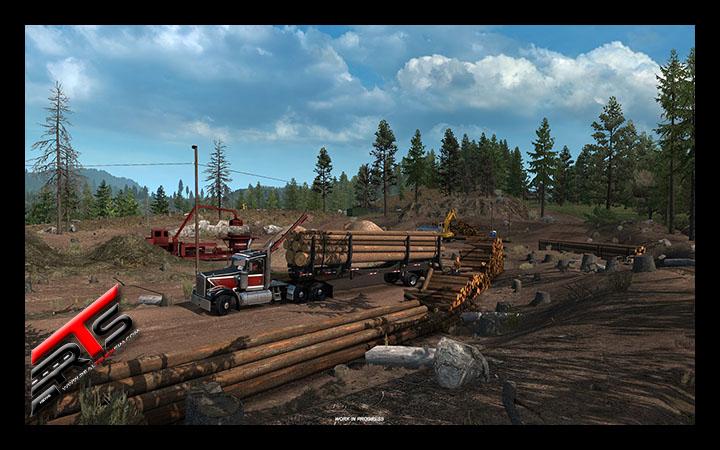 Image Principale American Truck Simulator - WIP : Chaîne de production du bois