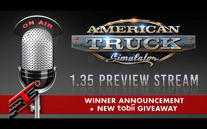 Image Principale American Truck Simulator - Stream : Episode 2 du Stream de la 1.35 + Nouveau jeu concours Tobii !