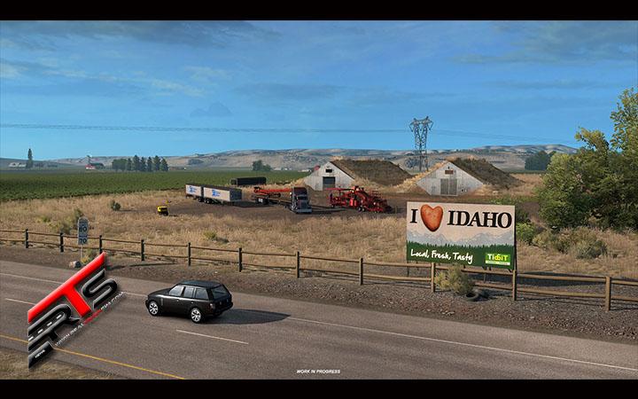 Image Principale American Truck Simulator - WIP : Idaho - Spécial Patates