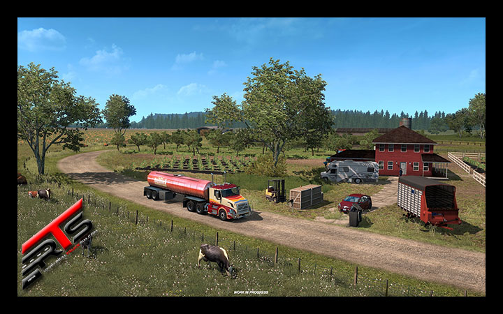 Image Principale American Truck Simulator - WIP : L'agriculture dans l'Etat de Washington