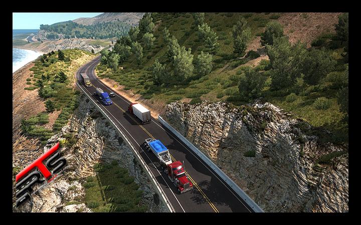 Image Principale American Truck Simulator : La route 1 rouvre aujourd'hui !