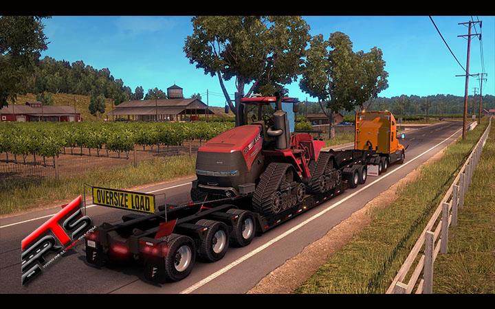 Image Principale American Truck Simulator - DLC : Le DLC Heavy Cargo Pack est disponible pour ATS !