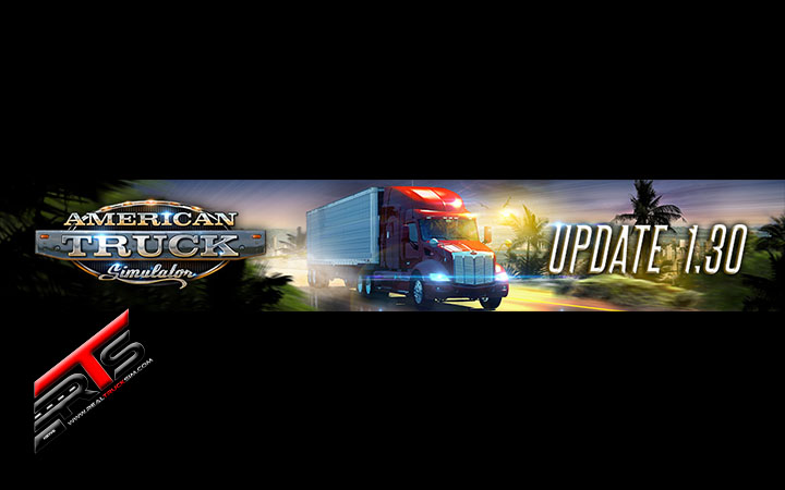 Image Principale American Truck Simulator : Mise à jour 1.30 disponible