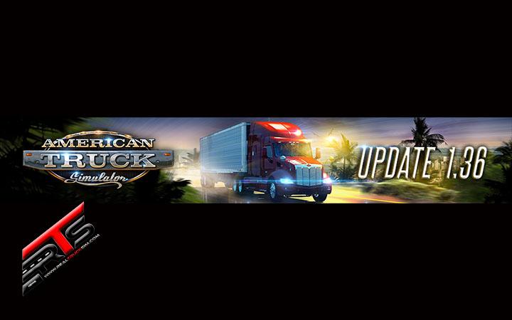 Image Principale American Truck Simulator : Mise à jour 1.36