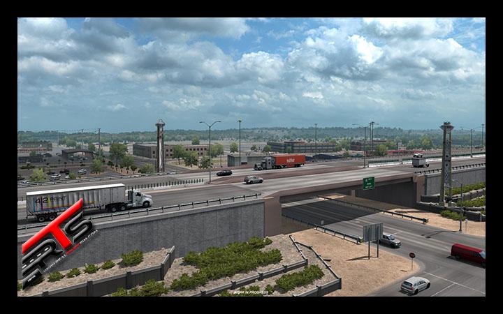 Image Principale American Truck Simulator - WIP : New Mexico - Albuquerque