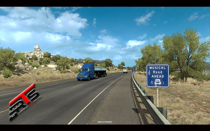Image Principale American Truck Simulator - WIP : New Mexico - Route musicale