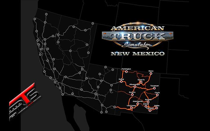Image Principale American Truck Simulator - DLC : New Mexico est sorti !