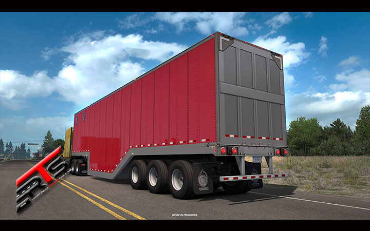 Image Principale American Truck Simulator - WIP : Nouvelles remorques Partie 1