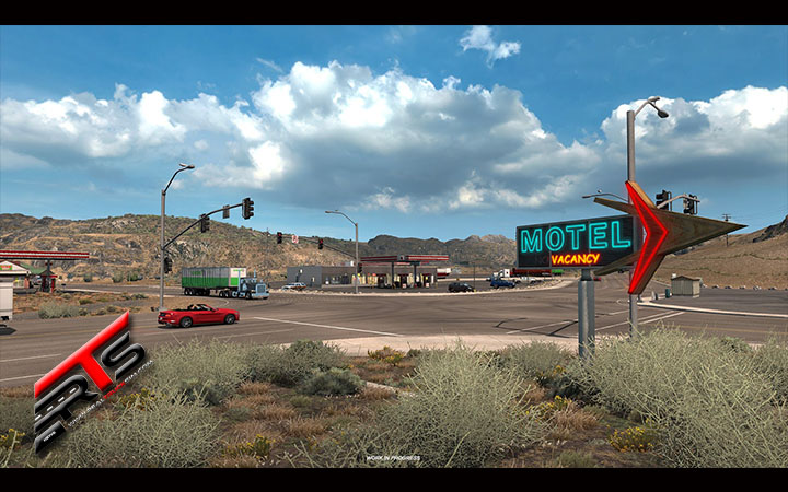 Image Principale American Truck Simulator - WIP : Oregon - Relais routiers