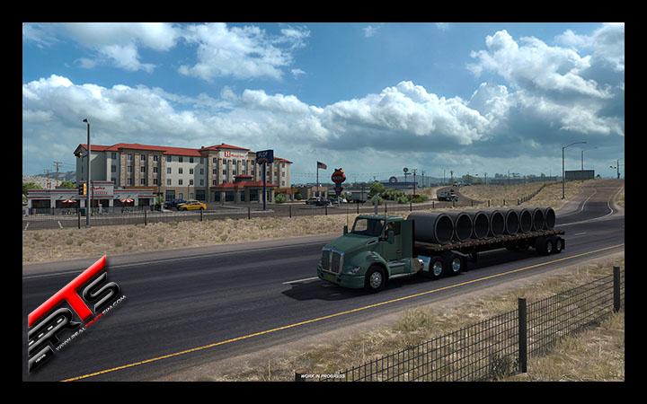 Image Principale American Truck Simulator - WIP : Paysages et Annonce de la bêta fermée