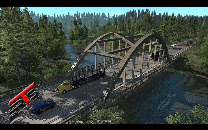 Image Principale American Truck Simulator - WIP : Ponts d'Oregon