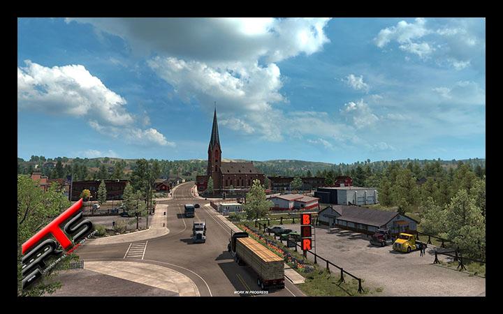 Image Principale American Truck Simulator - WIP : Quelle direction prendre, le castor le sait !