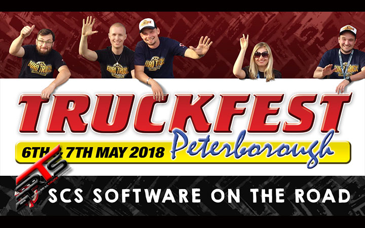 Image Principale SCS Software : SCS sur la route - Truckfest Peterborough