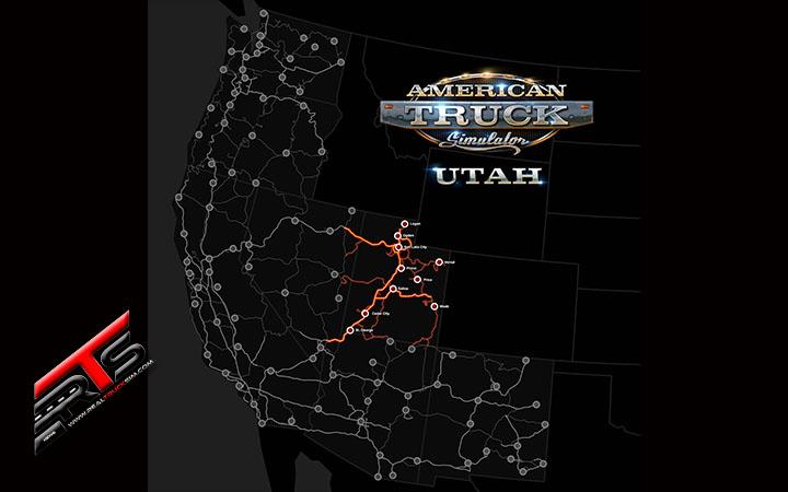 Image Principale American Truck Simulator - DLC : Sortie de l'Utah