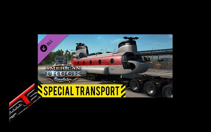 Image Principale American Truck Simulator - DLC : Special Transport est disponible !