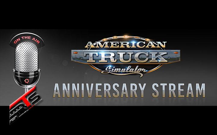 Image Principale American Truck Simulator - Stream : Stream anniversaire pour ATS