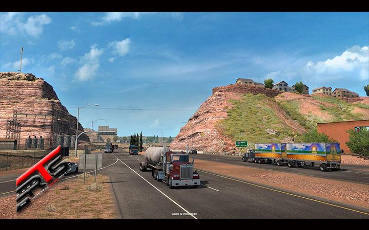 Image Principale American Truck Simulator - WIP : Utah - Cet Etat rocheux !