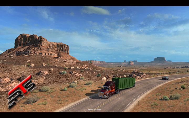Image Principale American Truck Simulator - WIP : Utah - Points de vue panoramiques
