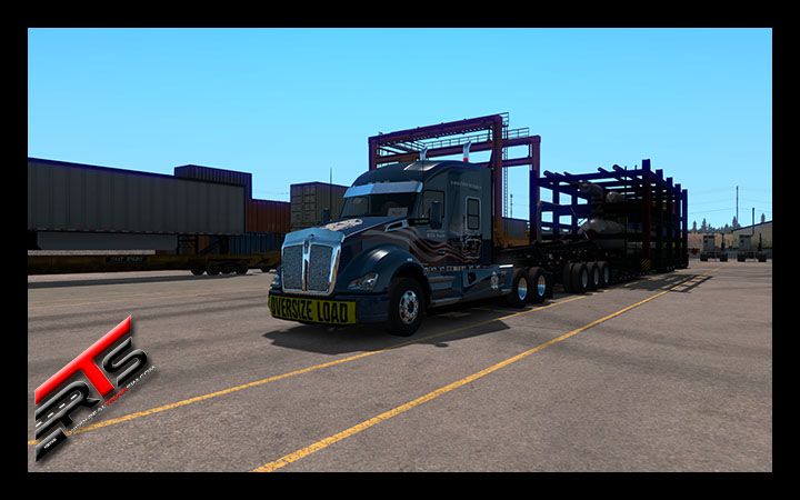 Image Principale American Truck Simulator : Vidéo du DLC Washington