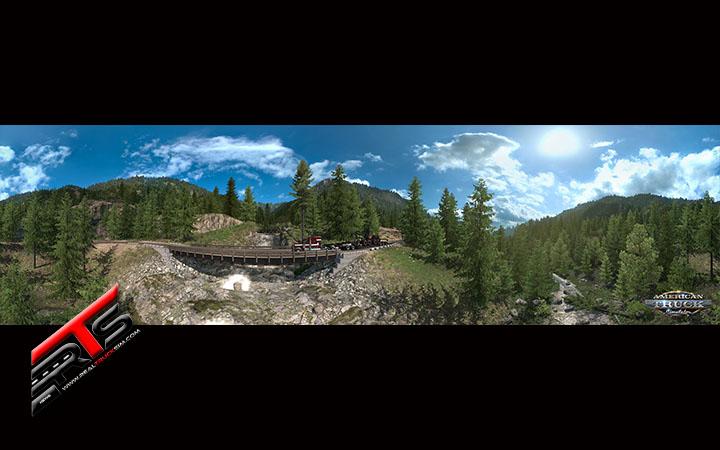 Image Principale American Truck Simulator - WIP : Washington - Aperçu des routes forestières