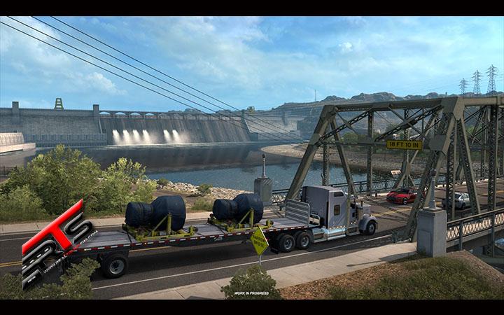 Image Principale American Truck Simulator - WIP : Washington - Barrage de Grand Coulee