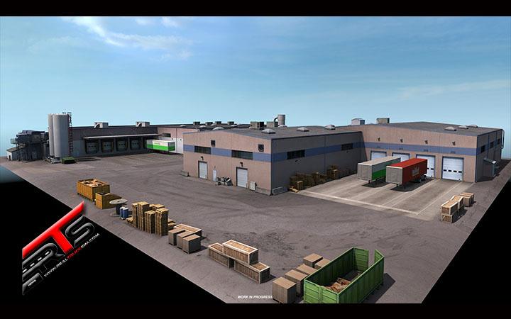 Image Principale American Truck Simulator - WIP : Washington - Bâtiments préfabriqués