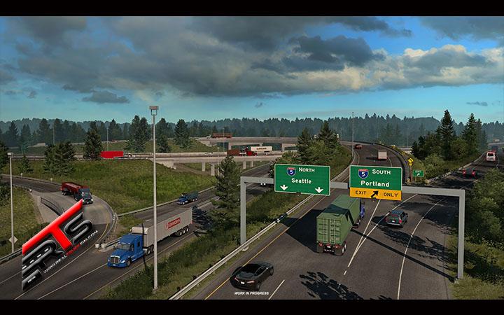Image Principale American Truck Simulator - WIP : Washington - Infrastructure