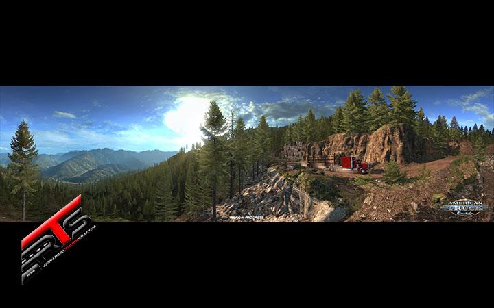 Image Principale American Truck Simulator - WIP : Washington - Route forestière