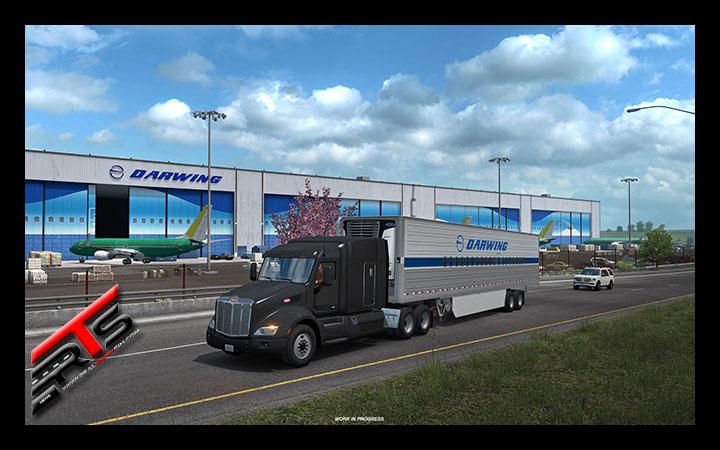 Image Principale American Truck Simulator - WIP : Washington - Usine aérospatiale d'Everett